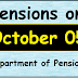 Pensions on October 05