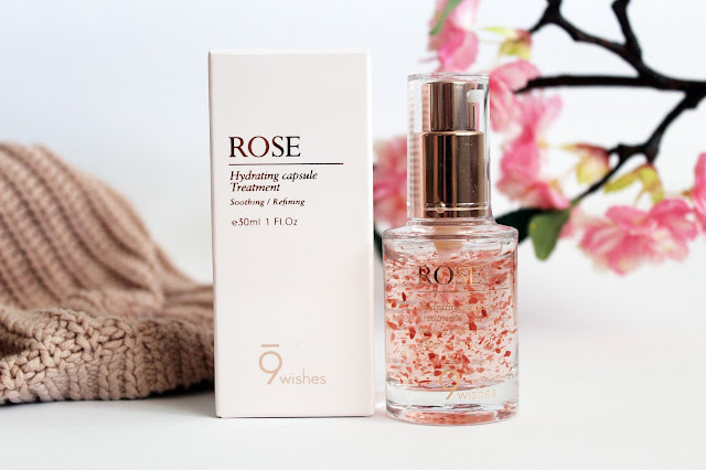 9Wishes, Vegetable Capsules Rose Essence