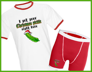 5ef23b20 Stargazer Designs - Funny T-Shirts and Gifts: Christmas Pickle ...