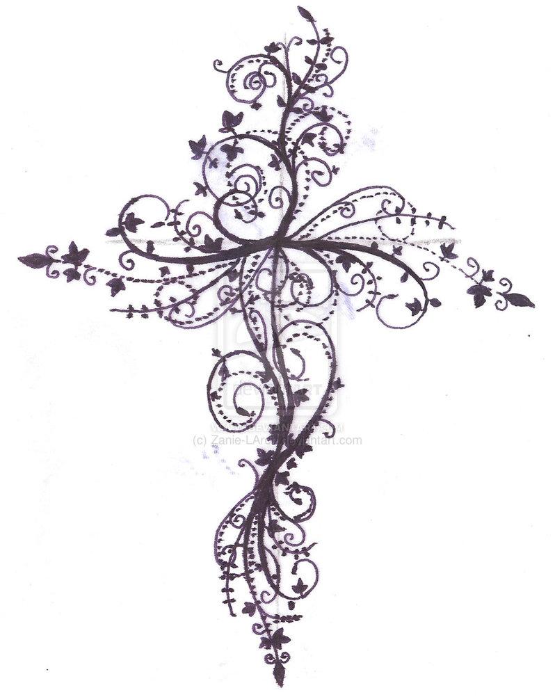 design gallery cross tattoos (2)