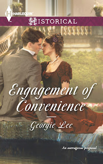 Engagement of Convenience, Georgie Lee, Harlequin, Regency romance, romance, novel