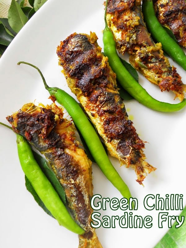 Grilled Fish Recipe Kerala Style Green Chilli Masala Cooking Is