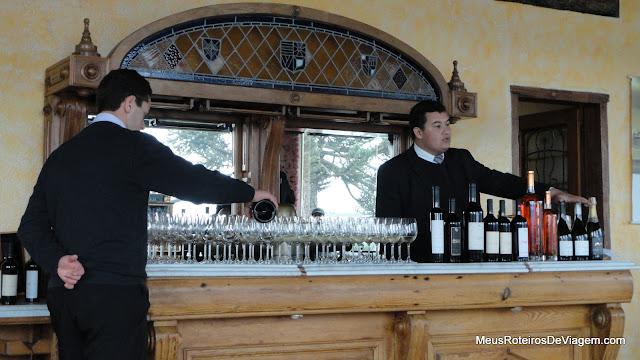 Degustação de vinhos na vinícola Villa Francioni - São Joaquim/SC