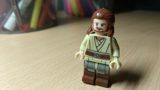Джедай Квай-Гон Джинн, фигурка лего купить, Звездные войны, Star Wars