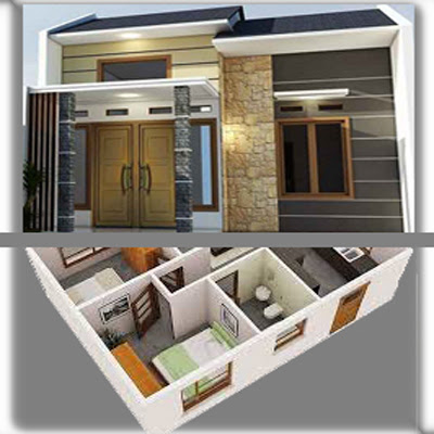 Model Rumah Minimalis Sederhana Modern Ukuran 6x9 M
