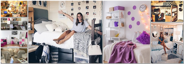 Dormitory Decor Ideas For College Girls