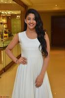 Daksha Nagarkar Cute Beauty in Sleeveless White Dress at Khwaaish Exhibition Launch 2017 ~  Exclusive 077.JPG