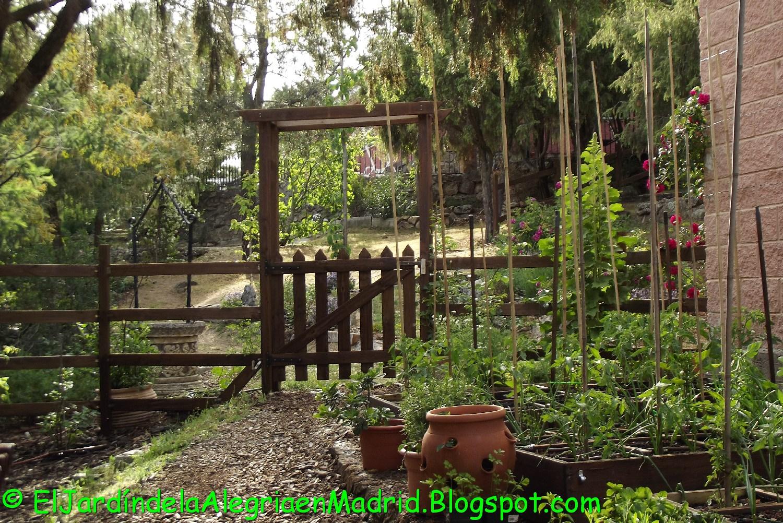 El jard n de la alegr a los bancales del huerto en mayo for El jardin de la alegria cordoba