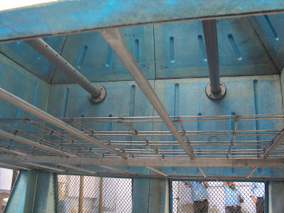 Fan Deck of Cooling Tower