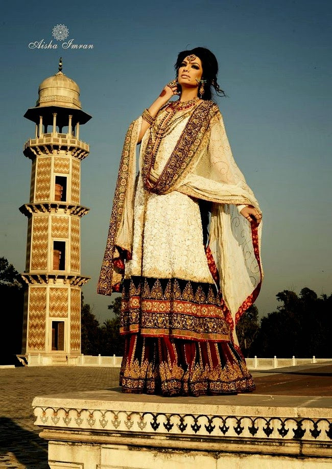 Aisha Imran Bridal Winter Fall Collection 2014-2015