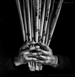 massbateria-manojo de baquetas de tock sticks