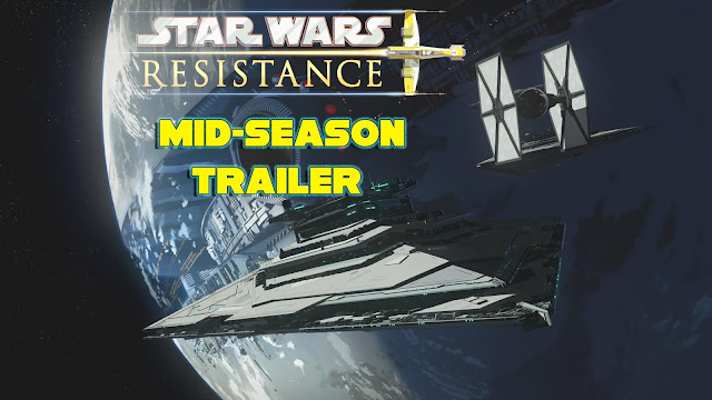 Star Wars Resistance mid-season
