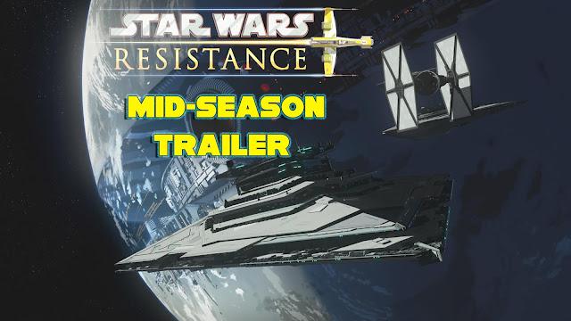 Star Wars Resistance mid-season