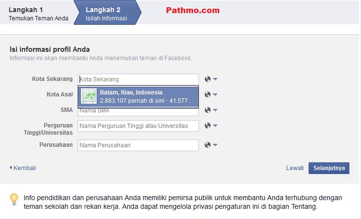 Cara Mudah Mendaftar Akun Facebook