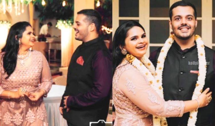 Vidyu Raman gets engagemet pics