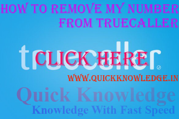 How to Remove My Number from Truecaller