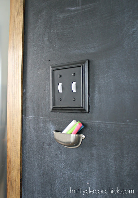 DIY chalk holder