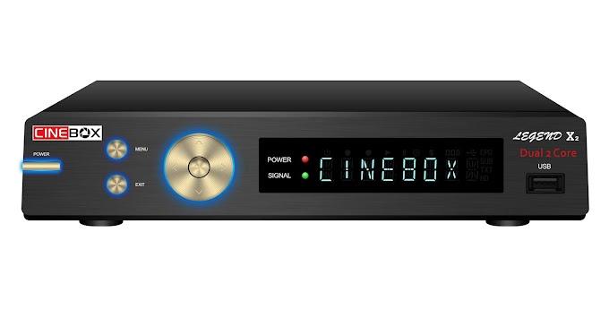 CINEBOX LEGEND X2 NOVA ATUALIZAÇÃO - 31/07/2018