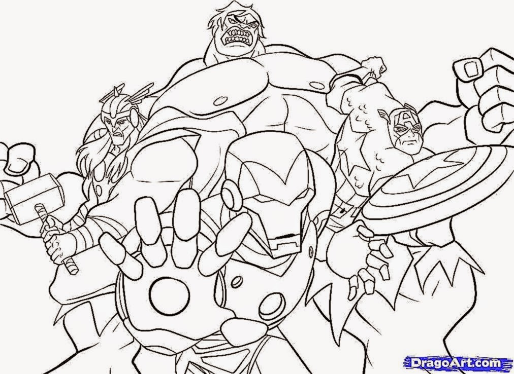 10 avengers coloring pages  Printable and Colors