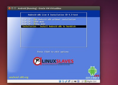 Install And Run Android on Linux