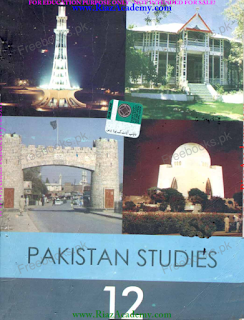 PAKISTAN STUDY in English for 12th Class