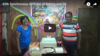 Rebing and Gil 65th synchronous birthdaycelebration