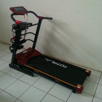 Treadmill elektrik new varian tl 3210 red jg fitness store toko