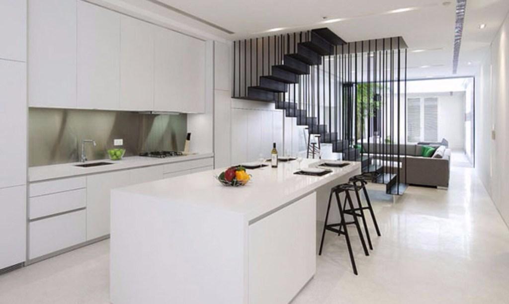 Minimalist kitchen model