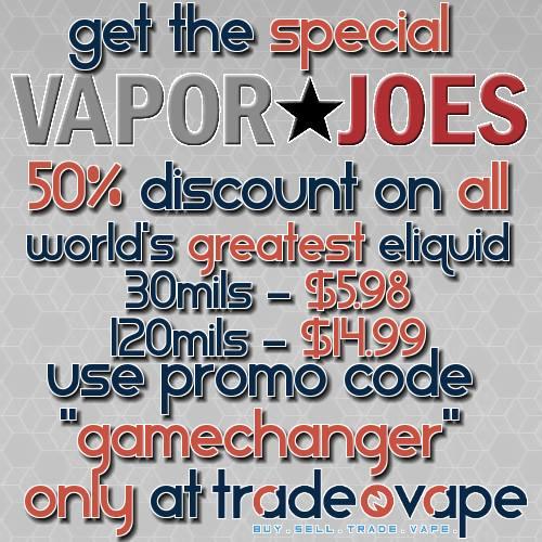 Vaporjoes com – Vaping Deals and Steals – BLOWOUT: WORLD'S GREATEST