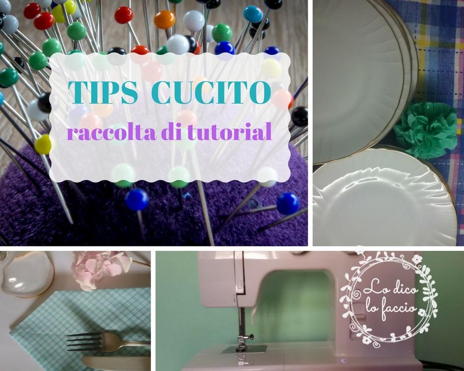 Ben noto Come cucire.tutorial di cucito ~ Lo Dico, lo Faccio OW49