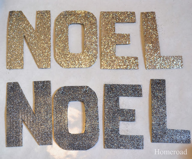 glittered holiday letters www.homeroad.net
