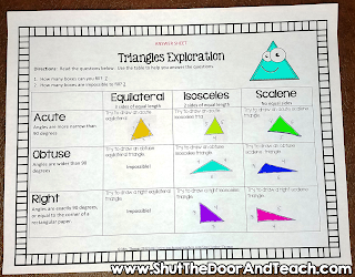 https://www.teacherspayteachers.com/Product/Geometry-Unit-Lines-Angles-and-Triangles-103595