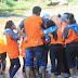 Siswa SMK Prajnaparamita Pantau Sungai Brantas Malang