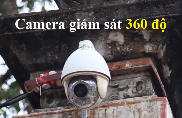 Camera giám sát 360 độ