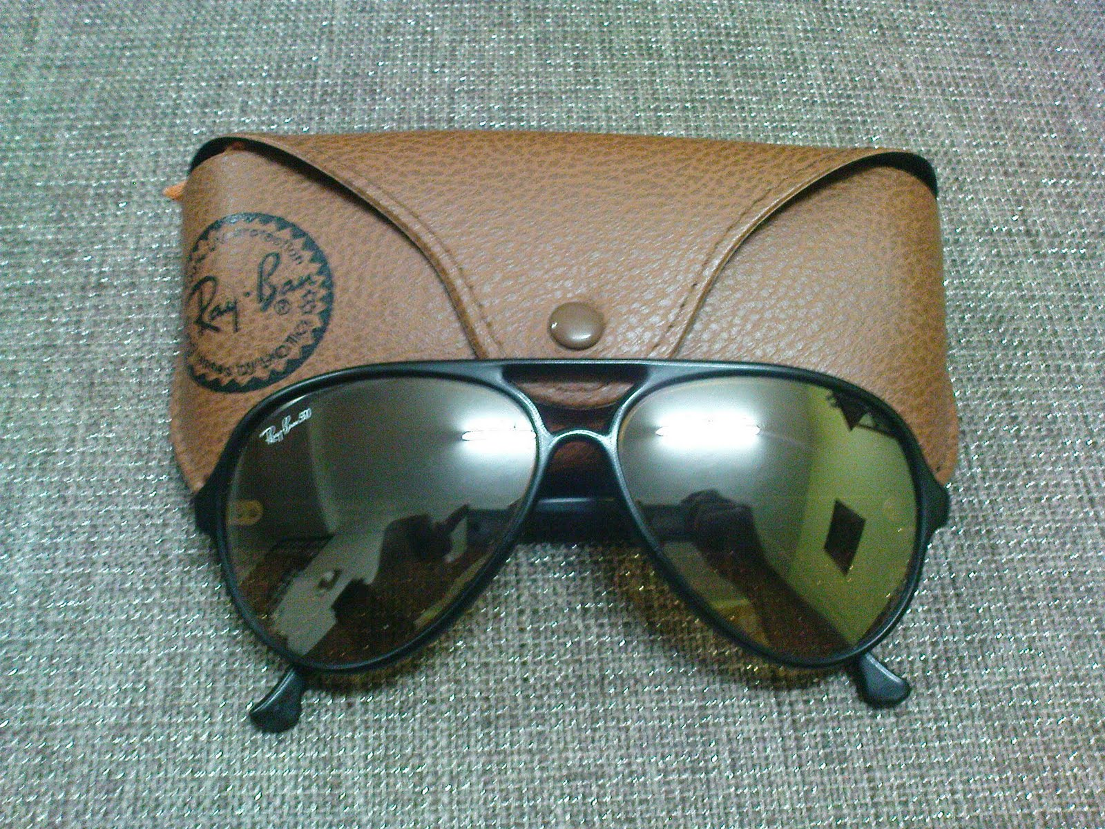 1cf352721b0195 Vintage Bausch   Lomb Rayban Sunglasses  (SOLD)Ray Ban Cats 5000 RB ...