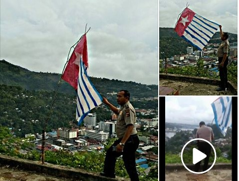 New Video! Bintang Kejora Berkibar lagi di Polimak Jayapura, Papua