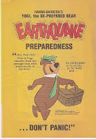 Yogi Bear Earthquake Preparedness comic
