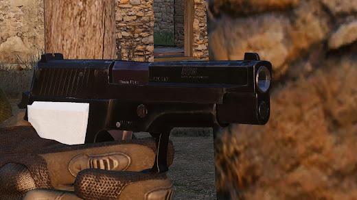 Arma3用P226拳銃MOD