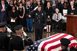 Mourners Pay Tribute to President George H.W. Bush at US Capitol