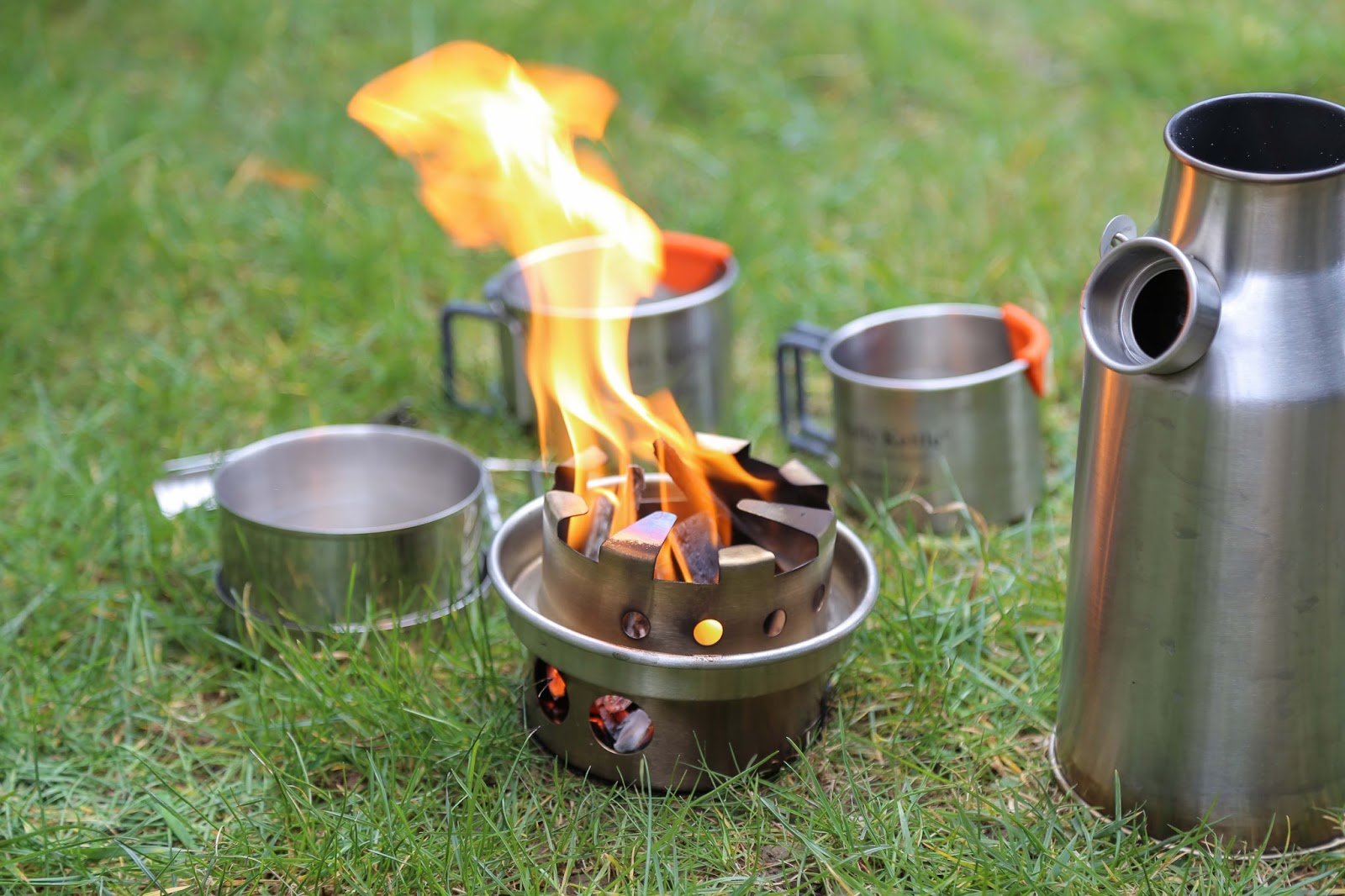 Outdoorküche Garten Edelstahl Test : Kelly kettle sturmkanne trekker kettle set review u test