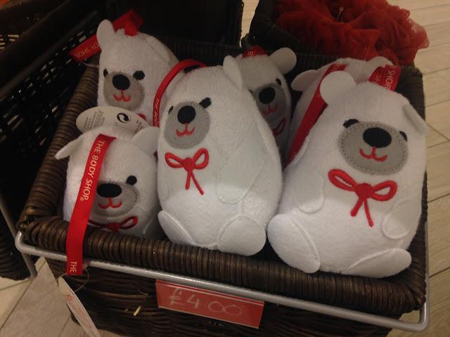 Bob Polar Bear Bath Sponge, The Body Shop