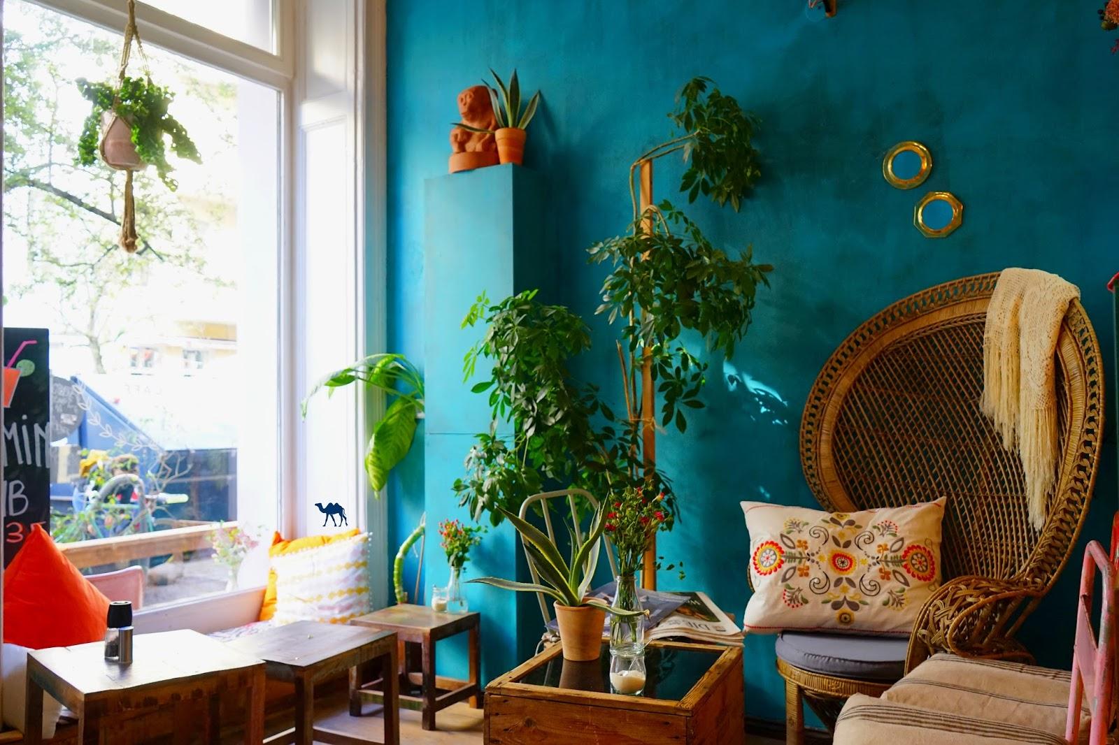 Le Chameau Bleu -  Salle Frida Cafe