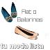 Bailarinas o Flat