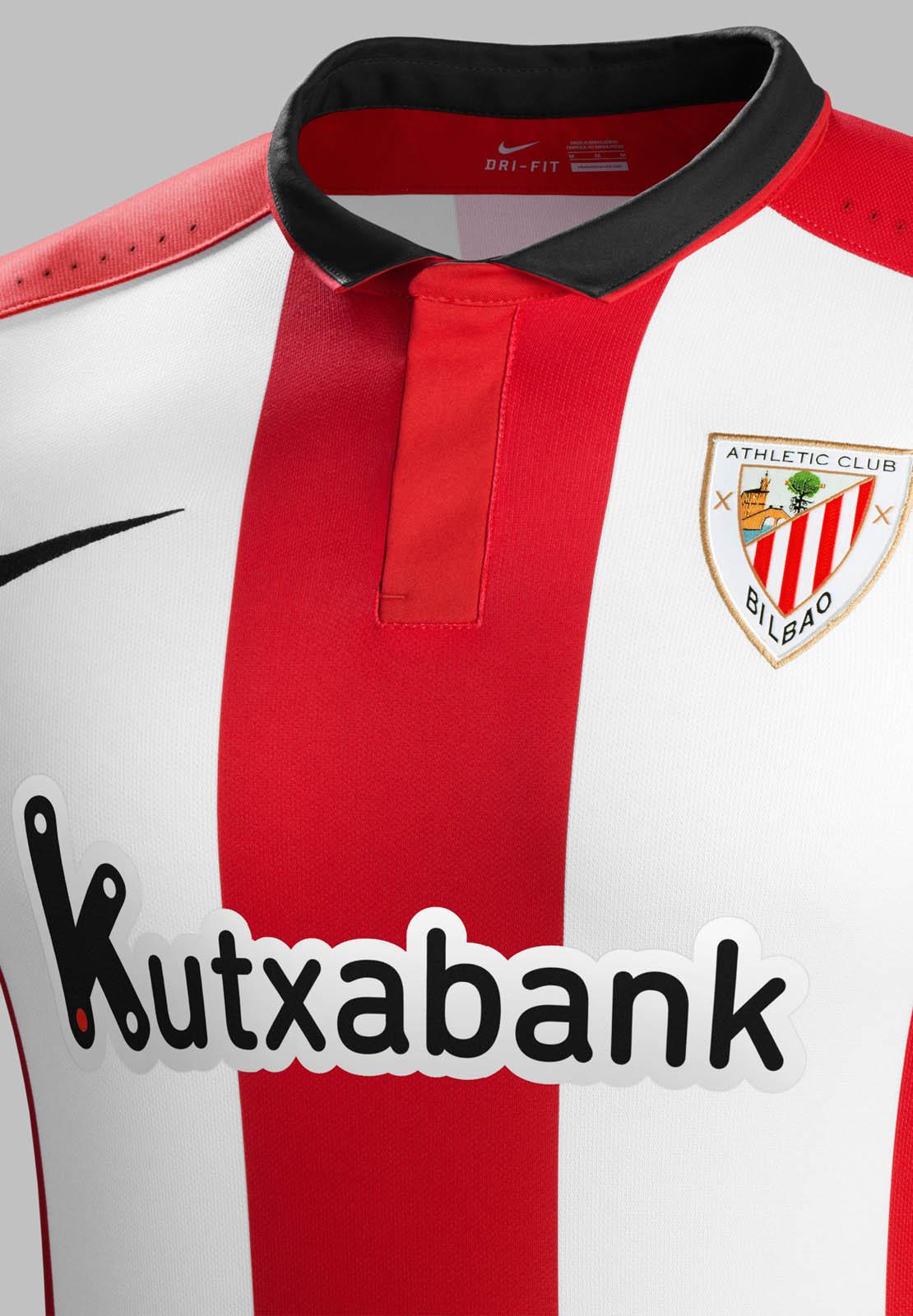 historia el primero Inspeccionar  Nice Day Sports: Nike Athletic Bilbao 15-16 Home Jersey / Have a Nice Day !