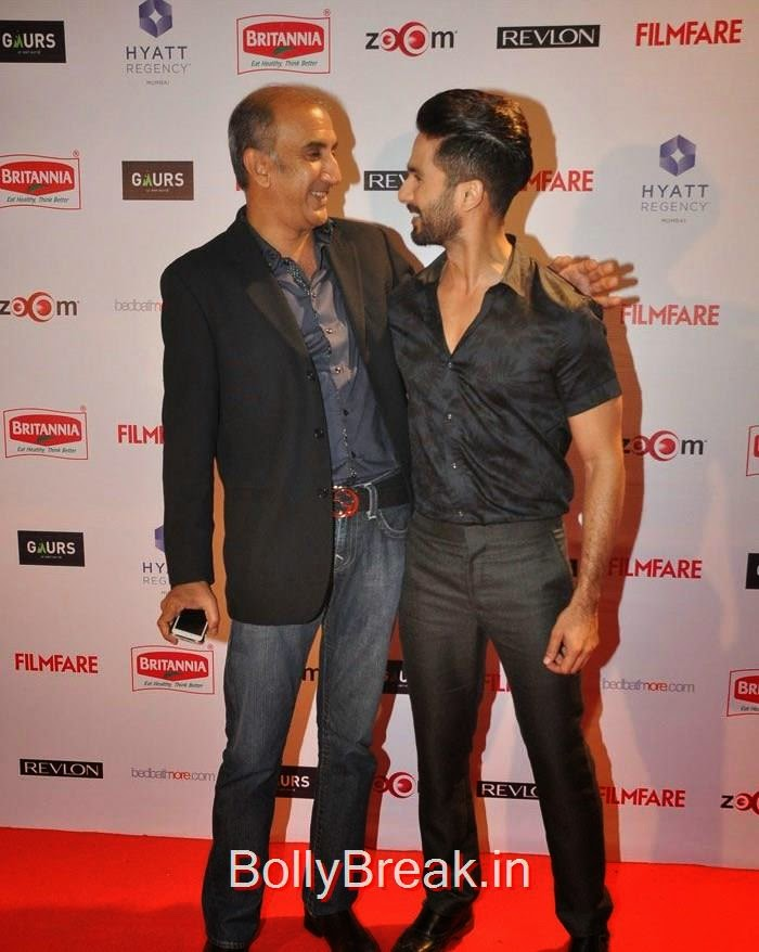 Milan Luthria, Shahid Kapoor, 60th Britannia Filmfare Awards pre-awards Party 2015 Red Carpet Pics