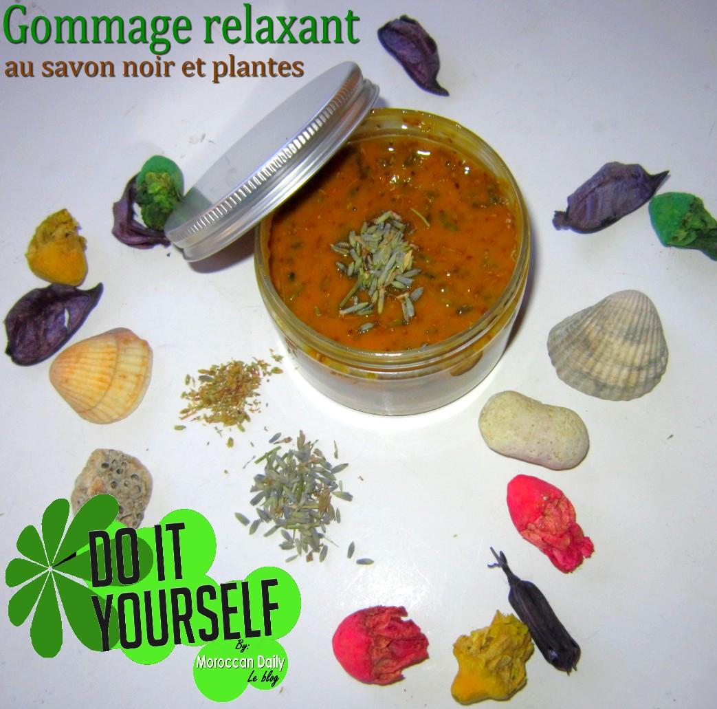 moroccan daily r aliser un gommage relaxant bio au savon noir et aux plantes faire ses. Black Bedroom Furniture Sets. Home Design Ideas