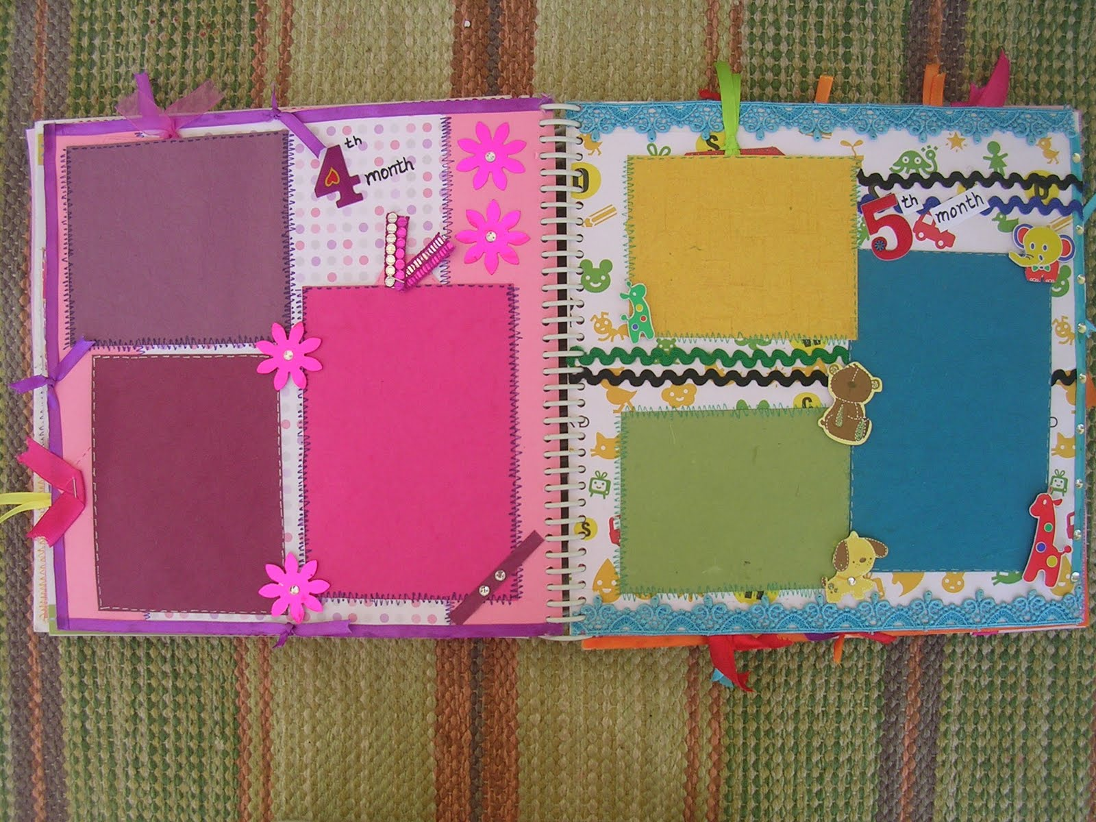Vishesh Collections Handmade By Deepti Baby Girl Scrapbook