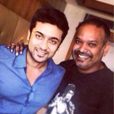 Surya-And-VenkatPrabhu-Masss-Shooting-Spot-Images