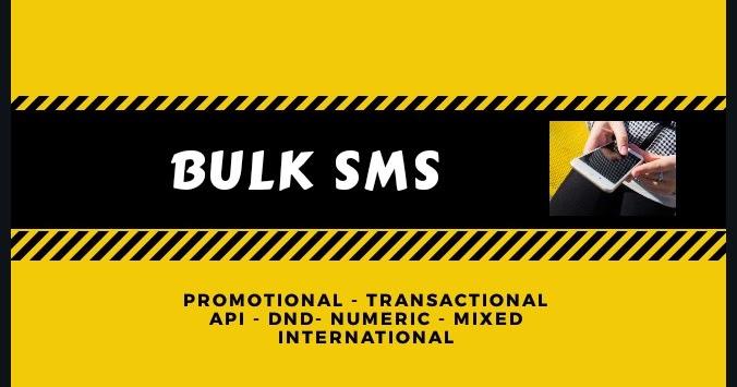 MobiDrive: Bulk sms
