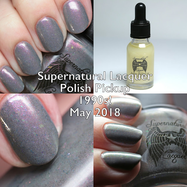 Supernatural Lacquer Polish Pickup 1990s! May 2018